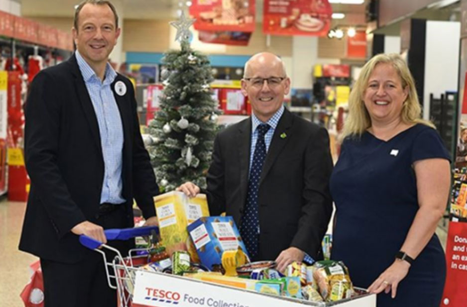 UK's Biggest Christmas Food Collection Provides Vital Support for People in Need