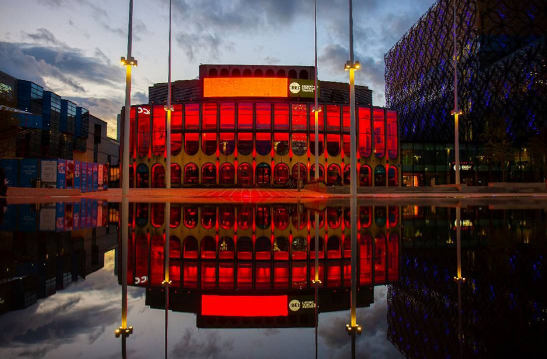 Birmingham Rep part of national 'Light It In Red' initiative