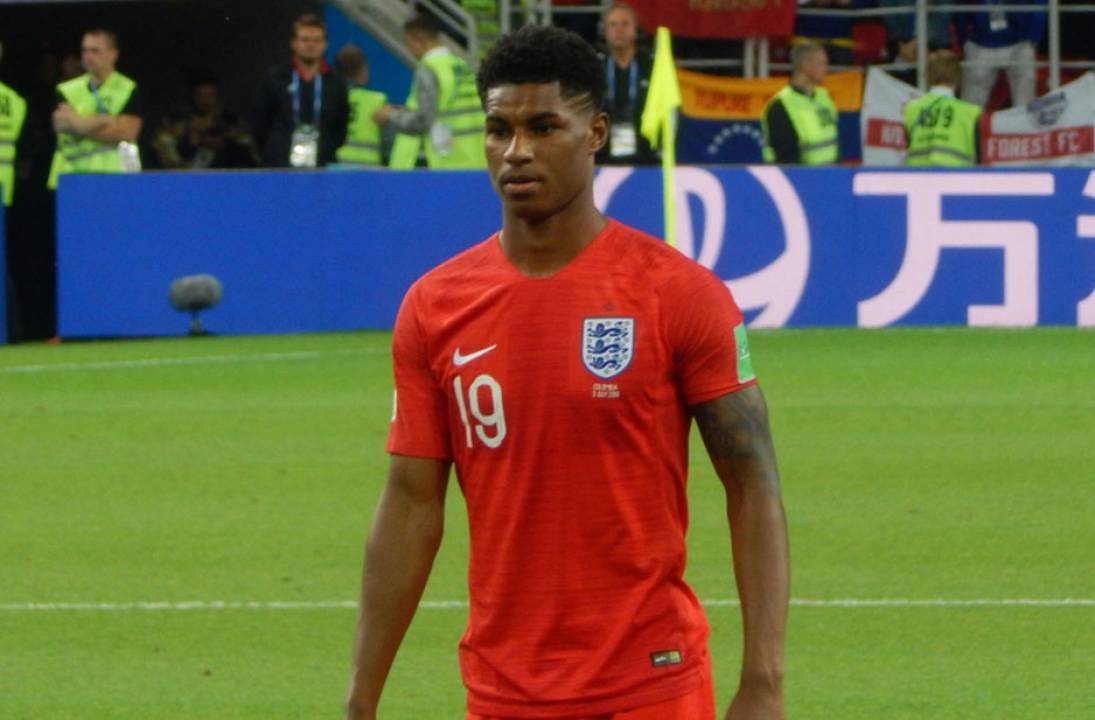 Marcus Rashford after being awarded honorary doctorate