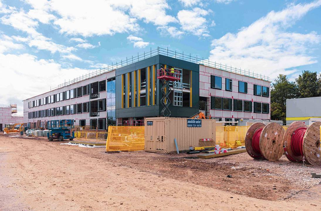 Work nears completion on brand new £19 million school