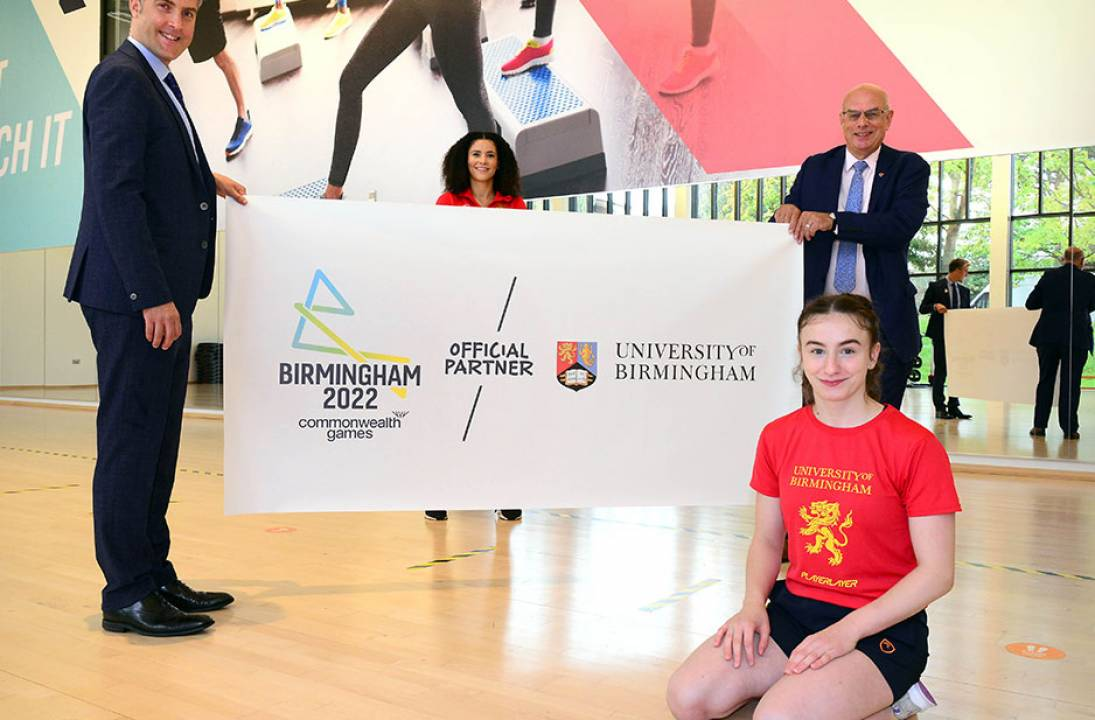 University of Birmingham unveiled as official partner for Birmingham 2022