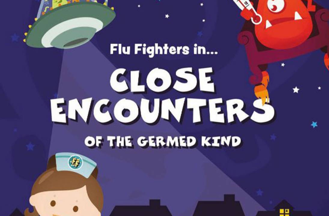 Flu Fighters return for a Close Encounter of the Germed Kind