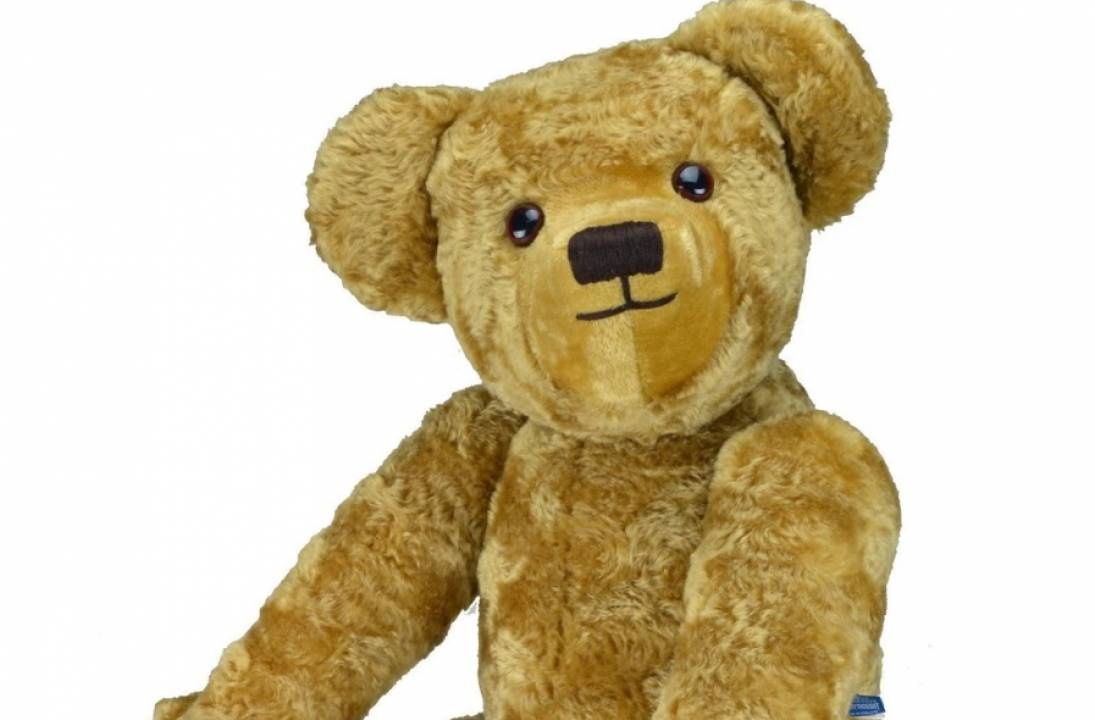 Merrythought launches giant version of Christopher Robin's Edward Bear