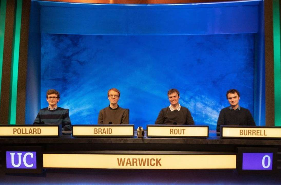 Warwick triumphant in University Challenge final