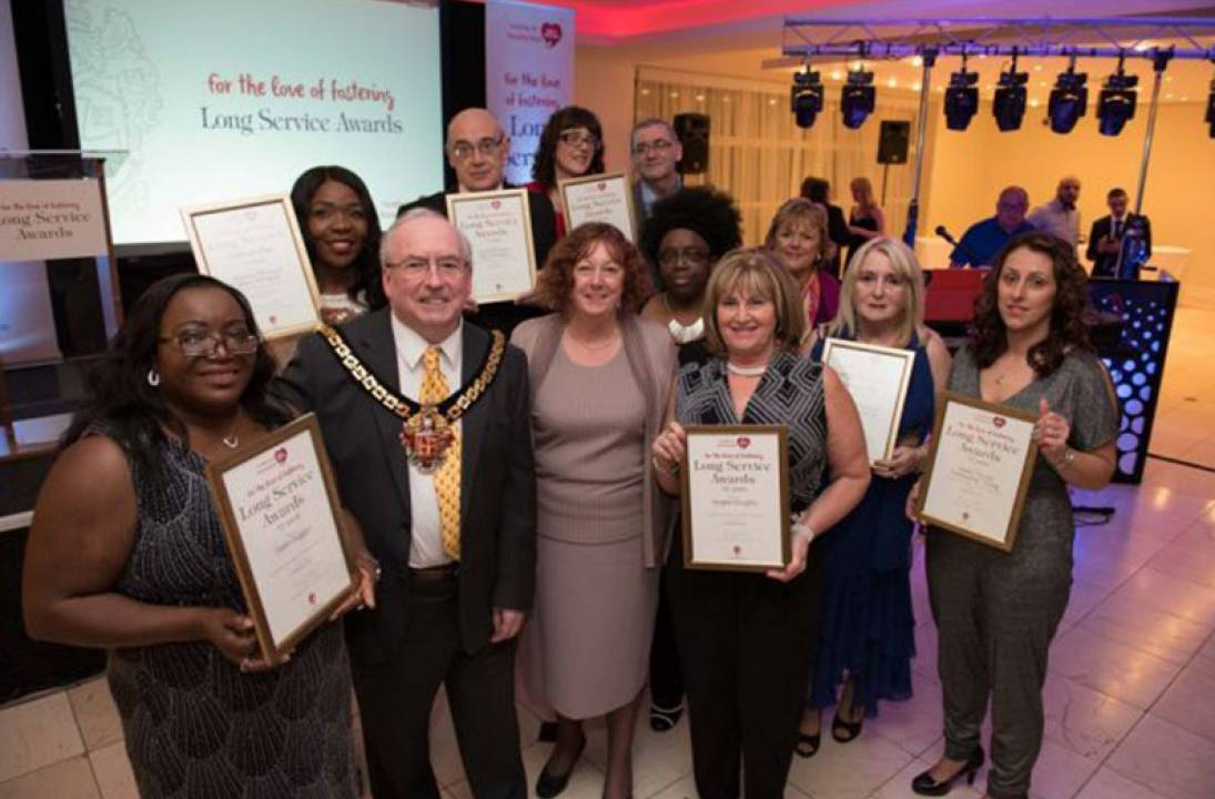 Council gives thanks to city's long-serving foster carers